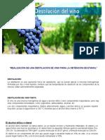 Diapositiva - Destilacion de Vino
