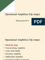 EGR240 D3.1 Op amps