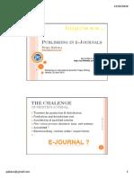 10. Publishing in E-journals -Dripa
