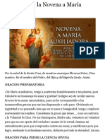 Sexto Día de la Novena a María Auxiliadora