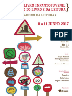 Programa Feira Livro  Infantojuvenil e Mercado do Livro e da Leitura, Pombal 2017