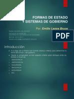 4. Formas de Estado y Formas de Gobierno