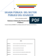 Deuda Sector Público Del Ecuador Diciembre2016 Corregido