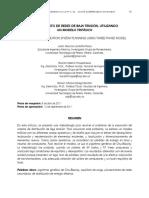 Planeamiento de Redes de Baja tensión utilizando un modelo trifasico