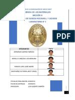Ensayo de Dureza SECCIÓN G Santivañez Gutarra 1