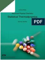 termodinámica estadística