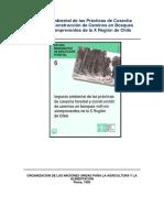 Impacto Ambiental de La Cosecha Forestal y Construcción de Caminos