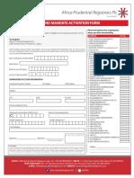 Africa Prudential Registrars e DIVIDEND MANDATE FORM