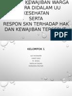 Menganalisis SKN & UU Kesehatan_Kelompok 1