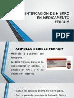 Identificación de Hierro en Medicamento (1)