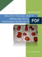 Efecto Del Frio y Embalaje