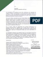 Carta a Pedro Pablo Kuczynski