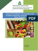 Guia de Variedades y Características de Productos Agrícolas en Mercados de Santo Domingo