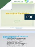 3.Mechanical Ventilation
