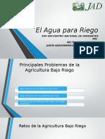 El Agua Para Riego, Encuentro Lideres (1)
