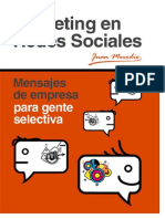 Marketing en Redes Sociales (Caso)
