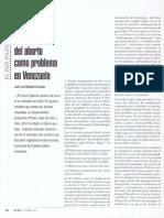 Aborto, Juan Luis Modolell