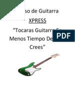 Guitarra Xpress Completo