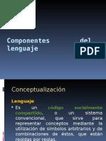 Componentes Del Lenguaje