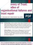 The Recovery of Trust a case study