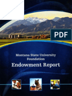 MSUF Endowment Report FY2010