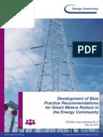 Development of Best Practices for Smart Metering Rollout