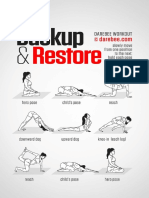 Backup and Restore Workout