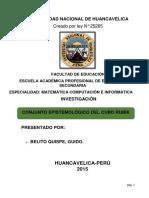 Álgebra i (Investigación) 2015 arranque