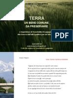 DOMENICO FINIGUERRA - Terra, Un Bene Comune Da Preservare L'Esperienza Di Cassinetta Di Lugagnano