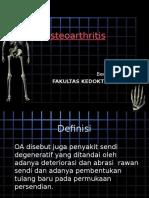 Osteoarthritis Kelompok 7
