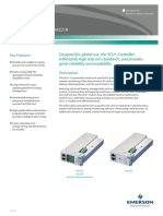 Emerson Network Power SCU Plus Datasheet