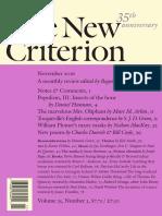The New Criterion - November 2016