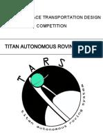 Titan Autonomous Roving System Mission & Design Proposal