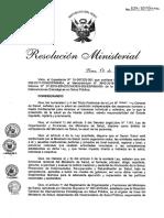 NTS N° 131– MINSA 2017 DGIESP NTS Vigilancia, Prevención y Control Rabia Humana en el Perú