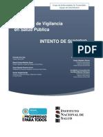 Protocolo Vigilancia Intento Suicidio