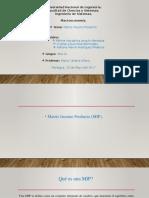 Matriz Insumo Producto(MIP).