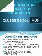 PROYECTO CLUBES educativos