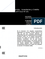 B14_Consumo, Inversión, Inventarios y Crédito