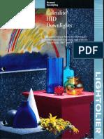 Lightolier Calculite HID Downlighting Catalog 1993