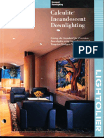 Lightolier Calculite Incandescent Downlighting Catalog 1994