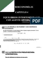 B4_Equilibrios Intertemporales Con Agentes Optimizadores