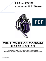 Marching Band Brass Manual