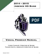 Marching Band Visual Manual