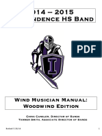 Marching Band Woodwind Manual