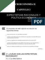 H3_Expectativas Racionales y Politicas Economicas