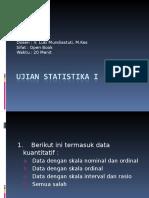 Ujian Statistika i