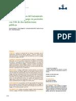 Efectos secundarios del tratamiento antirretroviral y apego en pacientes co....pdf