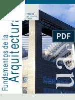 Grado Fundamentos de La Arquitectura