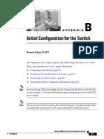 config switch cisco 4948