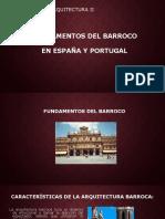 Fundamentos Del Barroco en España y Portugal 1